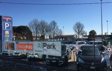Book a parking spot in ALIPARK MarcoPolo - Shuttle Stazione Venezia Mestre car park
