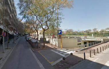 Reservar una plaza en el parking Manuel Valls