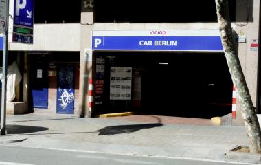 Book a parking spot in Estación Sants holapark car park