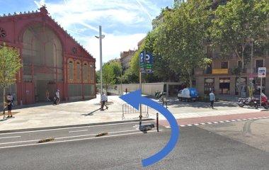 Reservar una plaza en el parking BSM Mercat de Sant Antoni