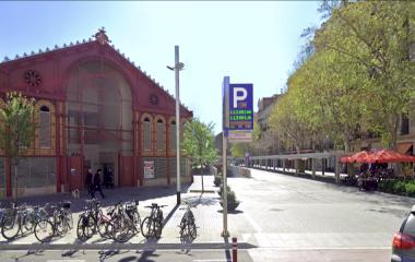 Book a parking spot in BSM Mercat de Sant Antoni car park