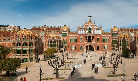 Hospital de Sant Pau, Barcelone