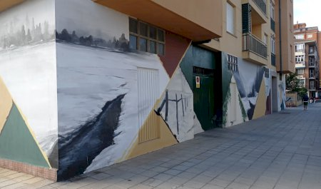 Mural Estampas Invernales, Zamora