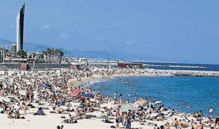 Playa Nova Icària, Barcelona