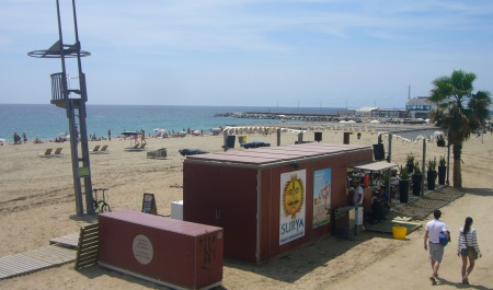 Playa de la Mar Bella, Barcelona
