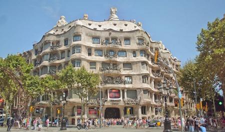 La Pedrera - Casa Milà, Барселона