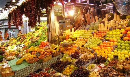 La Boqueria Market, Барселона