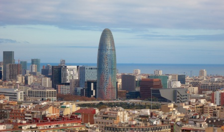 Torre Agbar, Barcellona
