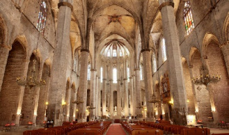 Santa Maria del Mar, Барселона