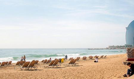 Sant Sebastià Beach, Barcelona