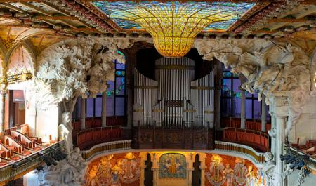 Palau de la Música Catalana, Барселона