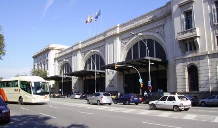 Gare de Barcelone-França, Barcelone