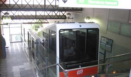 Tibidabo funicular, Barcelona
