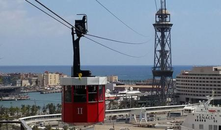 Cable Car Aeri del Port, Barcelona