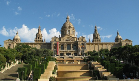 Museu Nacioanl d'Art de Catalunya MNAC, Barcelona
