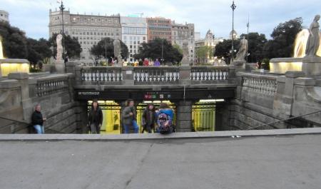 Estació de Barcelona-Plaça Catalunya, Barcelona