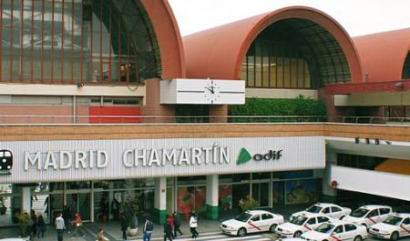 Chamartin Railway Station, Madrid