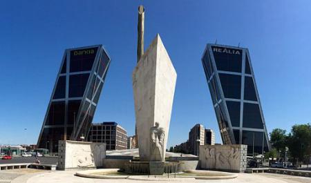 Plaza de Castilla, Мадрид