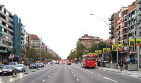 Avinguda Meridiana, Барселона