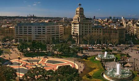 Plaça Catalunya, Barcelone