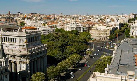 Calle de Alcalá, Мадрид