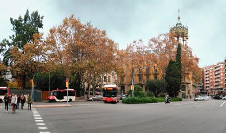 Plaça John F. Kennedy, Barcelone