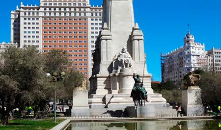 Plaza de España, Мадрид