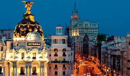 Gran Vía, Мадрид