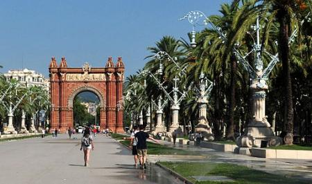 Arc de Triomf, Barcellona