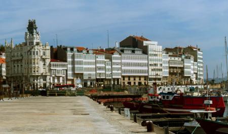 Puerto A Coruña, La Coruña