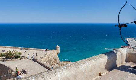 Castell de Santa Bàrbara, Alicante