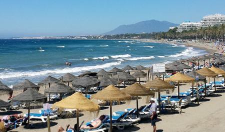 Playa de la Fontanilla, Марбелья