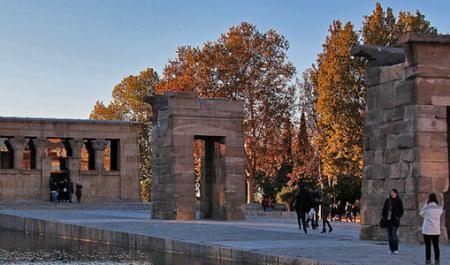 Templo de Debod, Мадрид