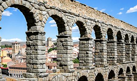 Acquedotto di Segovia, Segovia