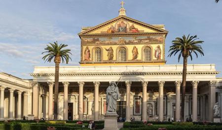 Basilica di San Paolo fuori le mura, Roma