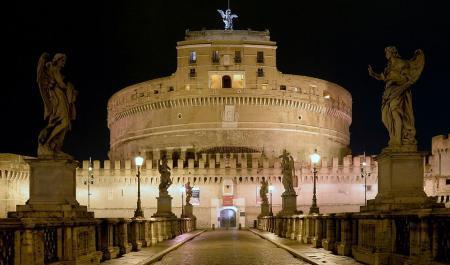 замок Сантаньело, Рим