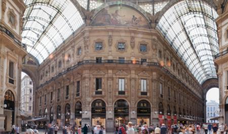 Galleria Vittorio Emanuele II, Milán