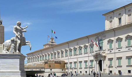 Palácio do Quirinal, Roma