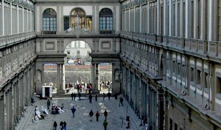 Galería degli Uffizi, Florencia