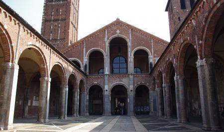 Basiliek van Sint-Ambrosius, Milaan