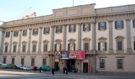 Palais royal de Milan, Milan