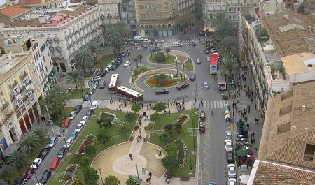 Piazza de la Reina, Valencia