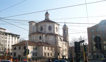 Церковь Сан-Бернардино-алле-осса, Милан