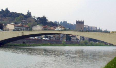 Ponte di San Niccolò, Florenz