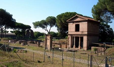 Tombs of the Via Latina , Rome