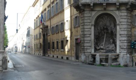 Quattro Fontane , Roma