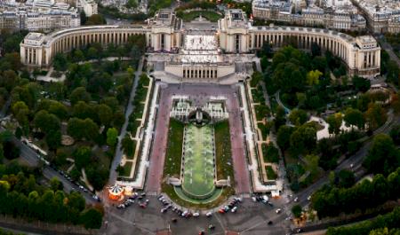 Jardins du Trocadéro, Paris