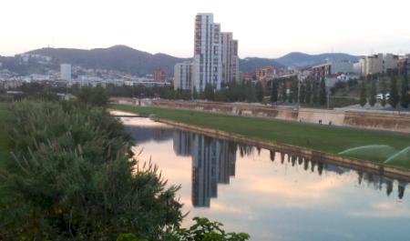 Parc Fluvial del Besòs, Sant Adrià de Besòs