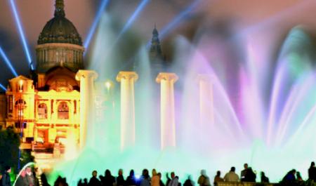 Магический фонтан Монжуика, Барселона