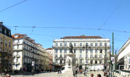 Praça Luís de Camões, Lisboa